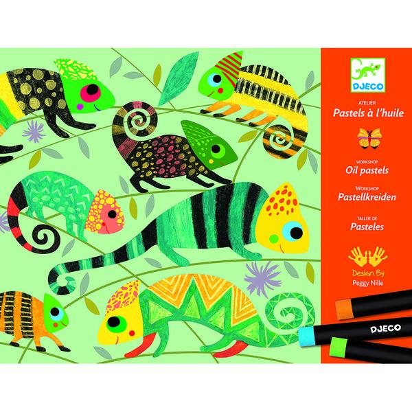 Комплект за рисуване - Coloured jungle